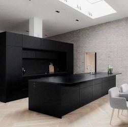 Delicate Black Kitchen Interior Design Ideas For Kitchen To Have Asap 29
