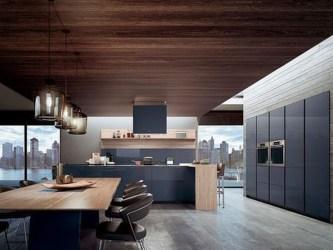 Delicate Black Kitchen Interior Design Ideas For Kitchen To Have Asap 31