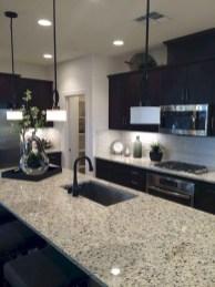Delicate Black Kitchen Interior Design Ideas For Kitchen To Have Asap 41