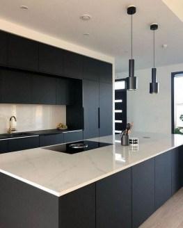Delicate Black Kitchen Interior Design Ideas For Kitchen To Have Asap 42
