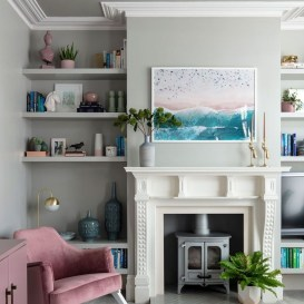 Easy And Simple Shelves Decoration Ideas For Living Room Storage 11
