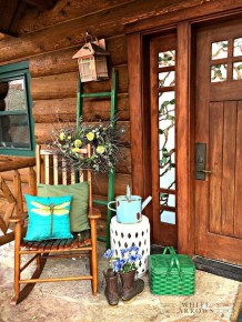 Elegant Chair Decoration Ideas For Spring Porch 03
