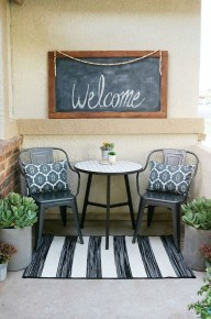 Elegant Chair Decoration Ideas For Spring Porch 05