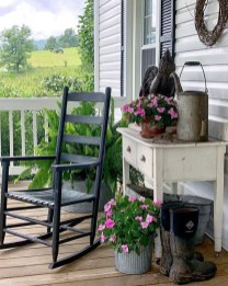 Elegant Chair Decoration Ideas For Spring Porch 12