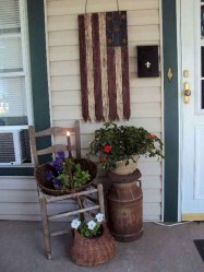 Elegant Chair Decoration Ideas For Spring Porch 31