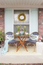 Elegant Chair Decoration Ideas For Spring Porch 40