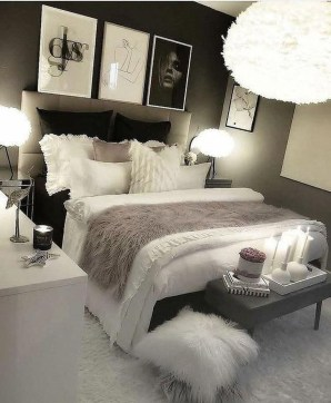 Fabulous White Bedroom Design In The Small Apartment 45
