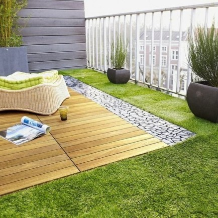 Fantastic Wood Terrace Design Ideas That You Can Try In This Spring 14