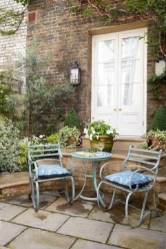 Fascinating Small Balcony Ideas With Relax Seating Area 22