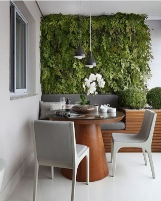 Fascinating Small Balcony Ideas With Relax Seating Area 27