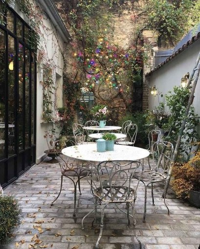 Fascinating Small Balcony Ideas With Relax Seating Area 41