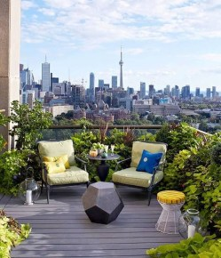 Fascinating Small Balcony Ideas With Relax Seating Area 43