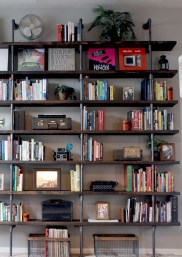 Innovative DIY Industrial Pipe Shelves You Can Make At Home 05