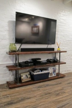 Innovative DIY Industrial Pipe Shelves You Can Make At Home 11