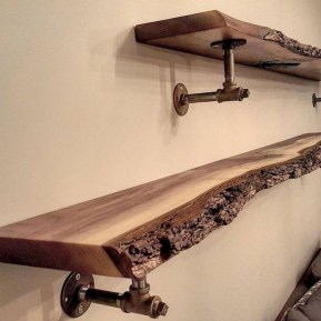 Innovative DIY Industrial Pipe Shelves You Can Make At Home 26
