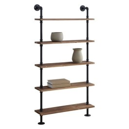 Innovative DIY Industrial Pipe Shelves You Can Make At Home 33