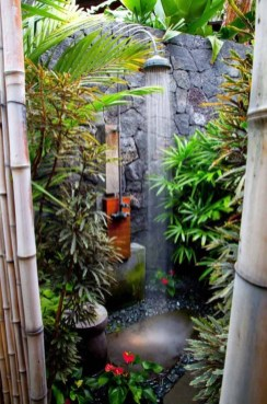 Spectacular Outdoor Bathroom Design Ideas That Feel Like A Vacation 17