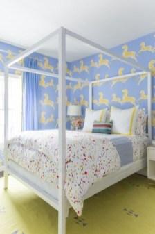 Stunning Teenage Bedroom Decoration Ideas With Big Bed 03