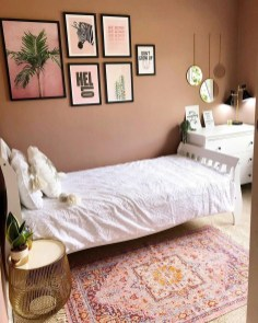 Stunning Teenage Bedroom Decoration Ideas With Big Bed 06