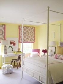 Stunning Teenage Bedroom Decoration Ideas With Big Bed 13