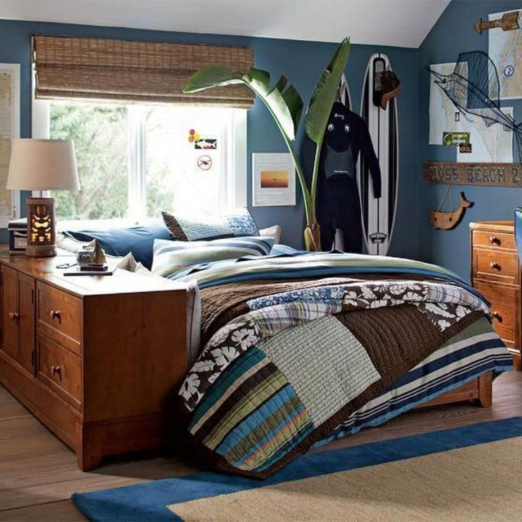 Stunning Teenage Bedroom Decoration Ideas With Big Bed 31
