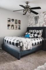 Stunning Teenage Bedroom Decoration Ideas With Big Bed 36