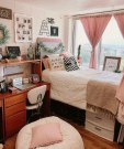 Stunning Teenage Bedroom Decoration Ideas With Big Bed 44