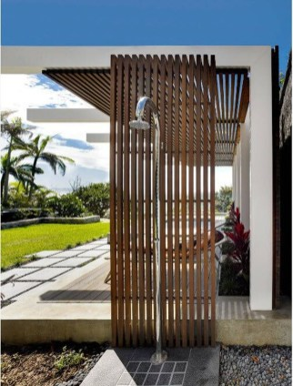 A Perfect Collection Of Outdoor Shower Ideas For Your Home 27