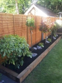 Beautiful Garden Fence Decorating Ideas To Follow 10