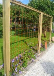 Beautiful Garden Fence Decorating Ideas To Follow 39