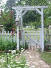 Beautiful Garden Fence Decorating Ideas To Follow 45