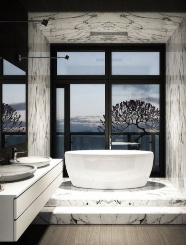 Best Inspirations To Design Luxury Apartment With Hot Tub 17