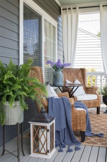 Comfy Spring Backyard Ideas With A Seating Area That Make You Feel Relax 19
