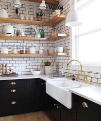 Creative Floating Corner Shelves For Living Room Organization Ideas 01