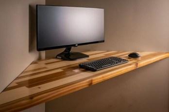 Creative Floating Corner Shelves For Living Room Organization Ideas 10