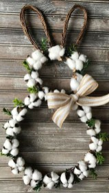 Cute Easter Bunny Decorations Ideas For Your Inspiration 01