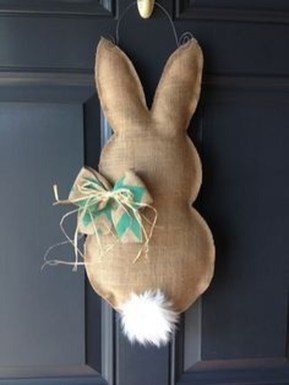 Cute Easter Bunny Decorations Ideas For Your Inspiration 15