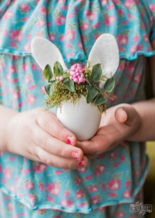 Cute Easter Bunny Decorations Ideas For Your Inspiration 30