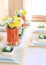 Easy And Natural Spring Tablescape To Home Decor Ideas 02