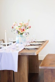 Easy And Natural Spring Tablescape To Home Decor Ideas 03