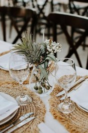 Easy And Natural Spring Tablescape To Home Decor Ideas 24