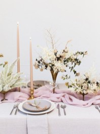 Easy And Natural Spring Tablescape To Home Decor Ideas 32