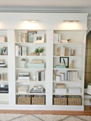 Fabulous Bookcase Decorating Ideas To Perfect Your Interior Design 06