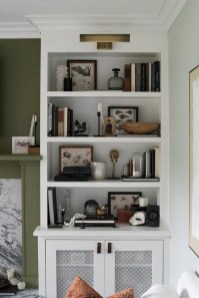 Fabulous Bookcase Decorating Ideas To Perfect Your Interior Design 12