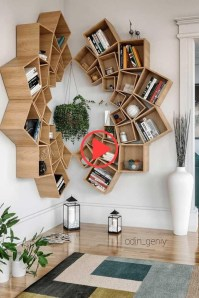 Fabulous Bookcase Decorating Ideas To Perfect Your Interior Design 13