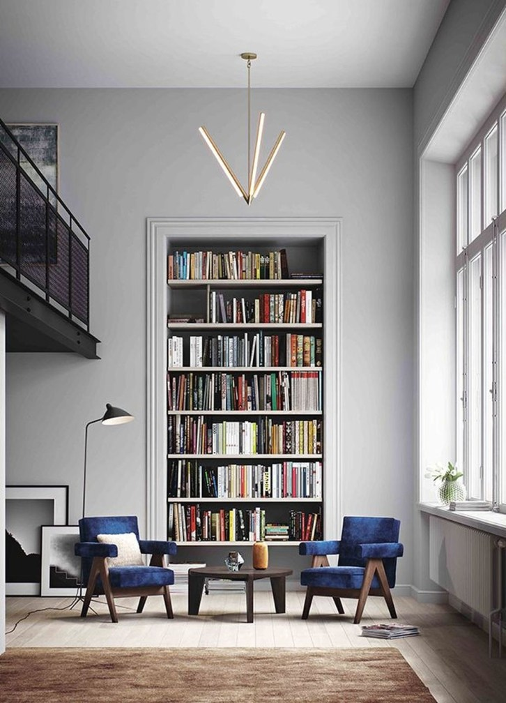 Fabulous Bookcase Decorating Ideas To Perfect Your Interior Design 25