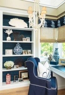 Fabulous Bookcase Decorating Ideas To Perfect Your Interior Design 27