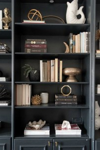 Fabulous Bookcase Decorating Ideas To Perfect Your Interior Design 28