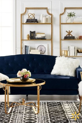 Fancy Gold Color Interior Design Ideas For Your Home Style To Copy 08