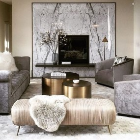 Fancy Gold Color Interior Design Ideas For Your Home Style To Copy 26